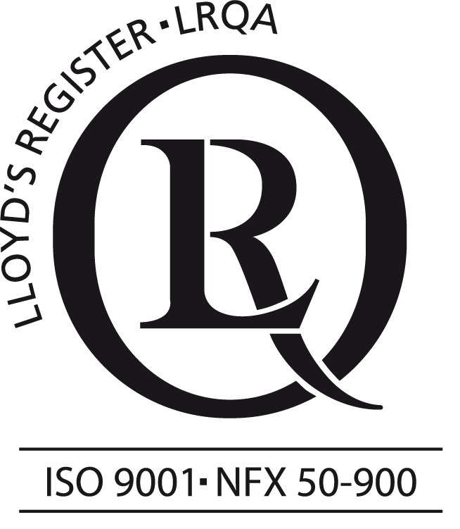 ISO 9001 and NFX 50 900